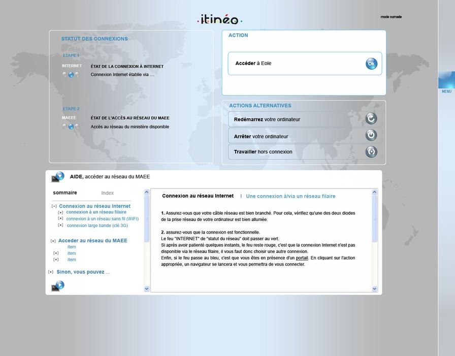 Bureau mobile itinéo