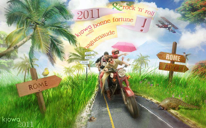 Vœux Kiowa 2011