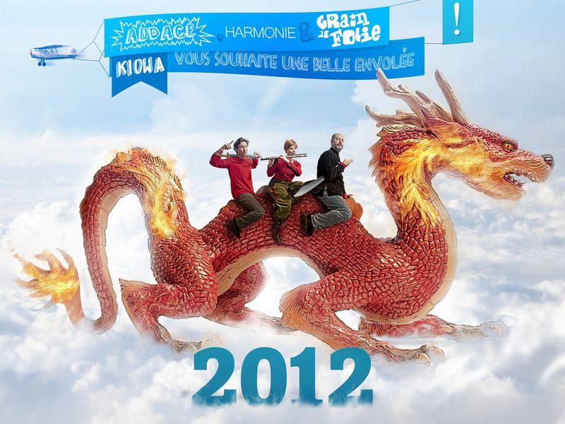 Vœux Kiowa 2012